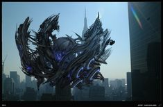 SKYLINE concepts ships and more by kino scialabba | Robotic/Cyborg | 3D | CGSociety