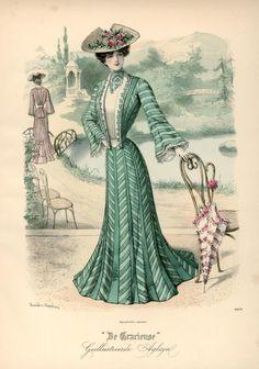 1902 Fashion plate