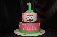 1st bday cake idea