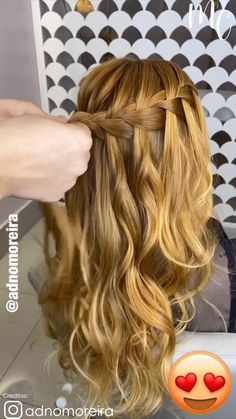 Cool Braid Hairstyles, Easy Hairstyles For Long Hair, Braids For Long Hair, Scrunched Hairstyles, Hair Down With Braid, Mermaid Hairstyles, Simple Hairdos, Fairy Hairstyles, Indian Hairstyles