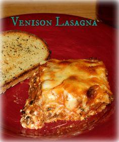 Venison Lasagna | My Wild Kitchen - Your destination for wild recipes