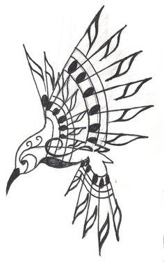 Hummingbird Tattoo by Crystalchik