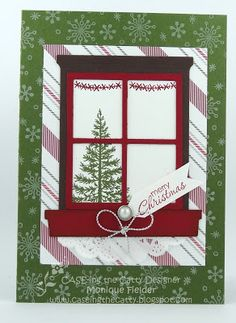 Stamping With MoniQ: CTC #49 - Home for the Holidays - SU - Christmas - used the…