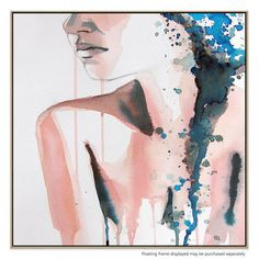 Watercolor Beautiful Girl Handmade Self Made Stock Illustration 167886437 Canvas Art Prints, Framed Prints, How To Make Paint, Buy Frames, Online Printing, Watercolor, Wall Art, Illustration, Artist