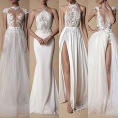 Just a few of the exquisite gowns from the new collection designed by How does one choose, I am in love with number which one is your favourite or ⚡️🔥⚡️. Sexy Wedding Dresses, Bridal Dresses, Wedding Gowns, Bridesmaid Dresses, Prom Dresses, Pretty Dresses, Beautiful Dresses, Mode Inspiration, Dream Dress