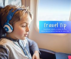 If you download your media at home while you still have Wi-Fi, you can later access this media even if you don't have an internet connection, like on your flight!This can be especially helpful for keeping little ones entertained for extended travel periods. #traveladdict #traveltheworld #travelpics #travellife #travelphoto #travelbug #travelblog #traveljunkie #travelph #tripbefeatured #travels Travel News, New Travel, Travel Pictures, Travel Photos, Make Money Blogging, How To Make Money, Vacation Deals, Wi Fi, Connection