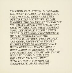 untitled from inflammatory essays, 1979/1982. lithograph on paper. 43.1 x 43.1 cm.