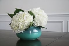 the simplicity of hydrangea. perfection