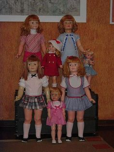patty playpal   I had the one with the plaid skirt when I was about 4 - 5 & she always creeped me out.