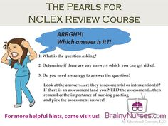 Evaluating the answers on an NCLEX question can be difficult. This three step process can help you!