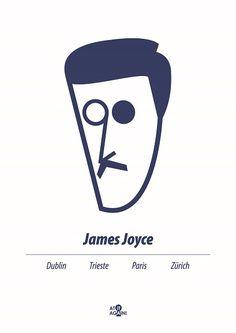 At it Again! James Joyce A3 print RRP 25