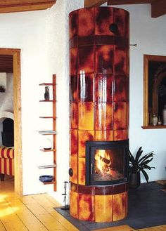 Resultado de imagen de fireplace rocket stove