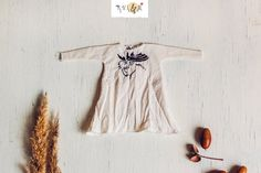 Dress for Blythe/Licca with handmade embroidery (Elk). by RVSandM on Etsy