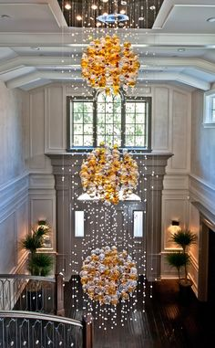 Private Residence Foyer Detail  Hidden Hills, California  Design Detail  Colonial by Smith Firestone Associates