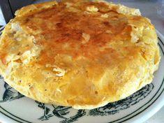 Receta de Tortilla de patatas y bacalao