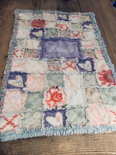 Blue Jean Quilts, Denim Quilts, Baby Clothes Blanket, Baby Blankets, Shabby Chic Quilts, Vintage Quilts, Kid Quilts, Baby Quilts, Rag Quilt Patterns
