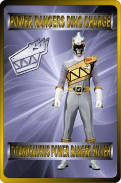 Titanosaurus Power Ranger Silver by rangeranime on @DeviantArt