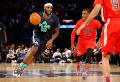 Lebron crossover on Chris Paul. All Star Game 2014