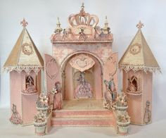 Hi everyone :-)   Have made a Fairytale Princess Castle with 2 lightning towers to hold the Graphic 45 Gilded Lily Mini Album. There is a t...