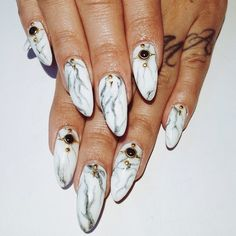 stone marble nails - Google Search