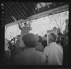 Demonstration of unemployed, Columbus, Kansas. May 1936. Photographer: Arthur Rothstein