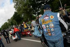 #Vespas and #Vespa riders from 21 countries invaded #Hasselt, a Flemish village in Belgium, for 2013 Vespa #World Days, the large #rally that annually summons and brings together Vespa #Clubs from all over the world. #vwd2013 #vespalove #vespapassion #vespaclub