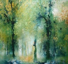 A beautiful collection of original paintings and limited editions by Stewart Edmondson at Dart Gallery, Dartmouth, Devon. Tree Watercolor Painting, Watercolor Artists, Watercolor Landscape, Abstract Watercolor, Abstract Landscape, Watercolour, Knife Painting, Painting Abstract, Nature Paintings