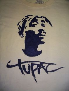 tupac stencil by jan3090 traditional art street art stencils 2009 2014 ...