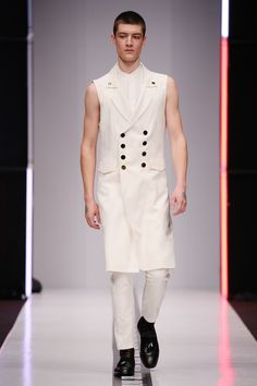 "Model walks the runway during fashion show of ""SORRY, I'M NOT"" spring-summer 2017 collection ""Burn That Witch"". Модель на показе коллекции бренда ""SORRY, I'M NOT"" весна-лето 2017 ""Сжечь Ведьму""."