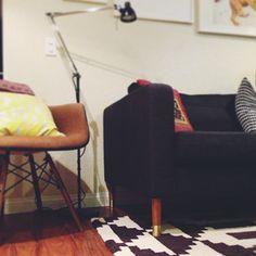 GENIALT! Sett på nye ben på eksisterende #IKEA møbler!!! :D Inspiration - Prettypegs