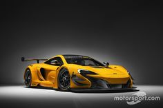 The updated GT3-spec McLaren 650S' most noticeable change is the addition of double carbon diveplanes.