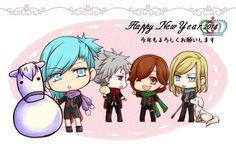 Quartet Night - Chibi ^^