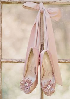 Pink Blush by Ana Rosa Moda Vintage, Vintage Glam, Just Girly Things, Bridal Shoes, Wedding Shoes, Ballet Wedding, Tout Rose, Blush Beauty, Bridal Beauty