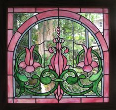 Image detail for -Floral Stained Glass Art By Siobhán Wisdom