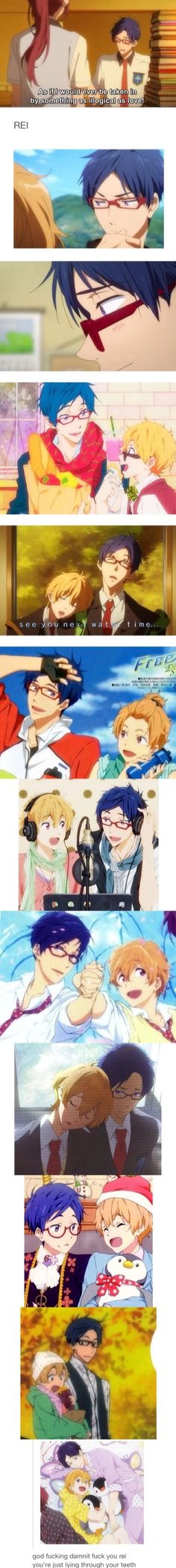 I haven't watched season 2... DOES THIS MEAN NAGISA AND REI ARE CANON YAOI?!?! PLEASE YES<<<< idk man but we can hope