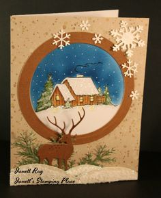 DRS Designs Rubber Stamps: It's Beginning to Look a Lot Like Christmas!