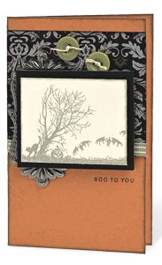 """Boo To You"" card from Close To My Heart"