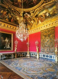 Chateau de Versailles - Salon d'Apollon -