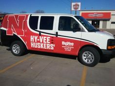 Wrap for #Hy-Vee. #GoBigRed