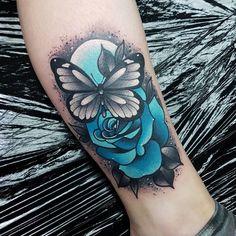 A fun small one for Antonia. Thanks again :) #supportgoodtattooers #tattoo_art_worldwide #thebesttattooartists #tattoosnob #tattooart…