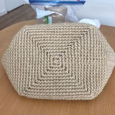 Best 11 Handmade crochet bag from rope will be the best accessory or a gift for you or your friend! Perfect for using – SkillOfKing. Crochet Clutch, Crochet Handbags, Crochet Purses, Crochet Bags, Love Crochet, Crochet Gifts, Crochet Stitches, Crochet Patterns, Diy Bags Purses