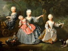 Barthelemy Du Pan (1712-63) The children of Frederick, Prince of Wales, 1746 : detail Queen's Gallery, Buckingham Palace Детки. СтаринноПортретное.. Обсуждение на LiveInternet - Российский Сервис Онлайн-Дневников