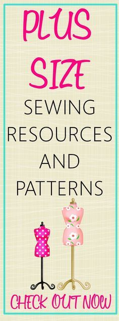 Sewing Tips Helpful Hints Get the links to all the helpful resources that you would for plus size sewing. Included in this post are classes, books, and links to sewing patterns. - plus size sewing patterns Sewing Hacks, Sewing Tutorials, Sewing Crafts, Sewing Tips, Dress Tutorials, Sewing Ideas, Techniques Couture, Sewing Techniques, Sewing Clothes