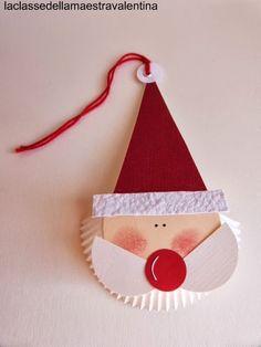 Che volete che vi dica... quest'anno vedo barbe di Babbo Natale ovunque!   Anche dei semplici pirottini bianchi possono trasformarsi in u...