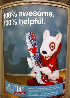 Target Bullseye Mascot Targets Community