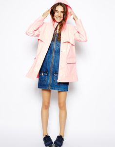 Image 4 - ASOS PETITE - Trench imperméable ultra brillant