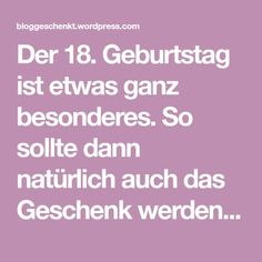 18 Gegenstände zum Geburtstag The birthday is something very special. So of course, then should be the gift that presented to her. I have 18 gege … Birthday Presents, Birthday Wishes, Happy Birthday, Boyfriend Birthday, Diy Party, Party Ideas, Gift Ideas, Balloons, Birthdays