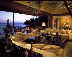 Tropical Living Room Design, Pictures, Remodel, Decor and Ideas - page 9