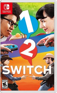 1-2 Switch Nintendo Switch Game Console Kids Active Party Fun Friends Dance New  #Nintendo