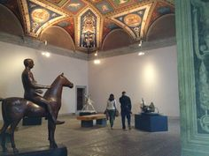 This was the room in which Pope Alexander VI held his banquets for nobles, princes, and kings. Today, the room is used as an exhibit room for modern art. Los Borgia, Cesare Borgia, Pope Paul Iii, Dario Fo, Italy History, Exhibition Room, Cultura General, The Borgias, Crime